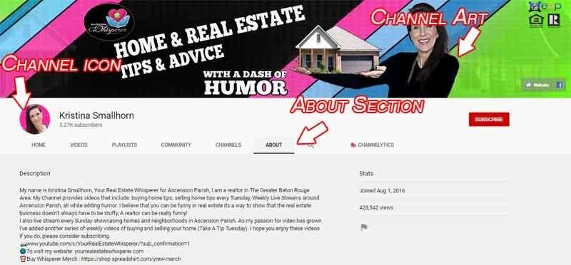 youtube video marketing channel art