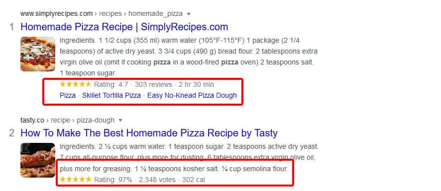 rich snippets for woocoomerce seo